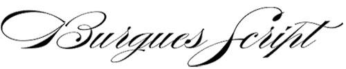 Tipo de fuente Burgues-Script
