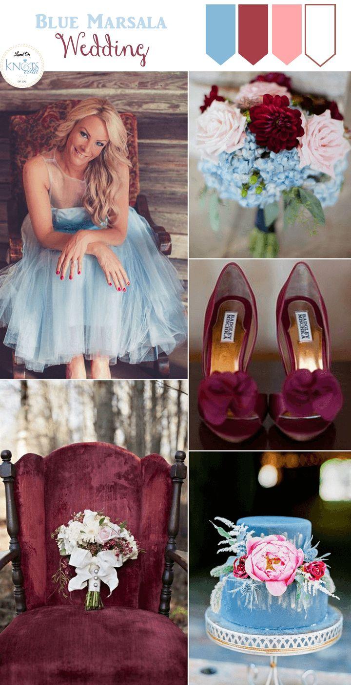 El color marsala en tu boda