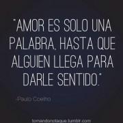 Paulo Coelho nos trae su definición de amor
