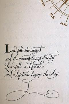 Frase de amor perfecta para tu invitacion de boda