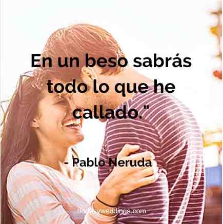 Frases de amor de Pablo Neruda para tus invitaciones de boda