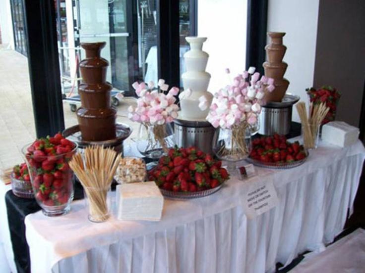 Fuentes De Chocolate Para Tu Boda Ideas Originales Y Deliciosas