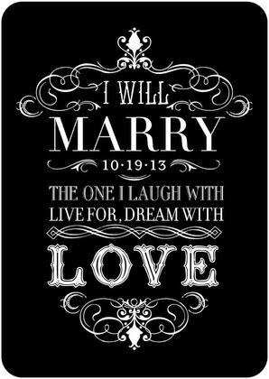 Hermoso mensaje de amor en esta invitacion de bodas