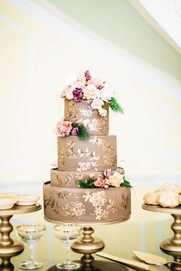 Tortas Para Matrimonio Rustico : Fotos de pasteles boda espectaculares e inolvidables