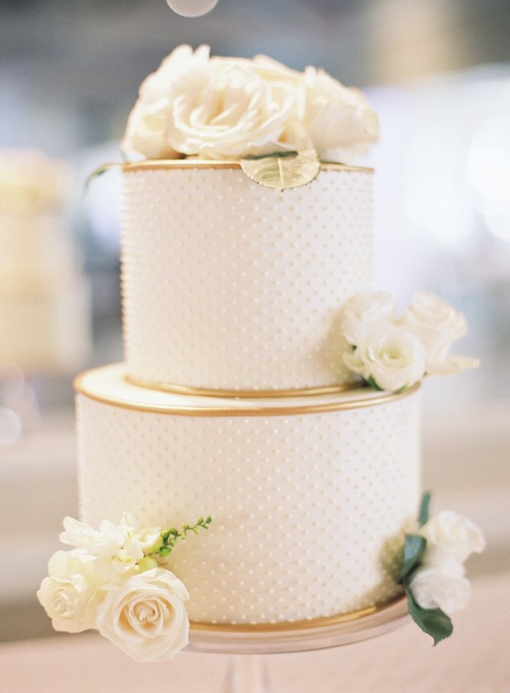 two tiered wedding cake ideas fotos de pasteles de boda espectaculares e inolvidables 21339