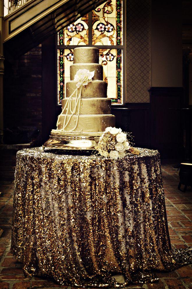 Pastel para boda estilo Gatsby. Una original boda temática para los más atrevidos