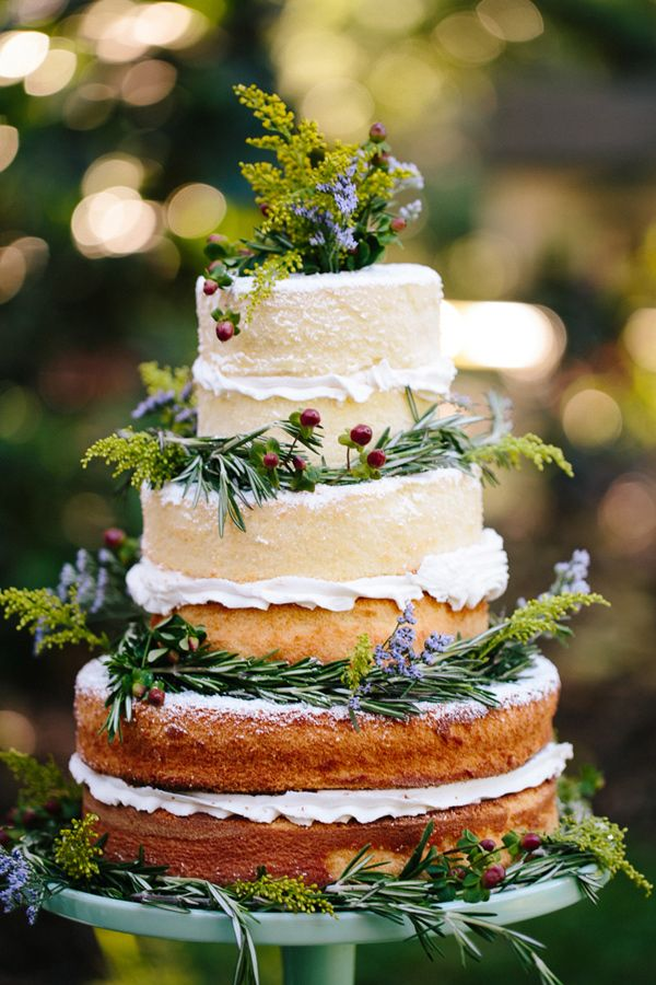 pasteles de boda desnudos fotografia de Becca Borge