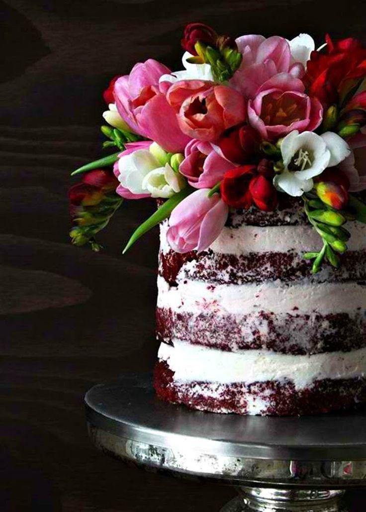 Perfecto para una boda industrial o rustica | 25 Imágenes de Pasteles de Boda Originales e Irresistibles