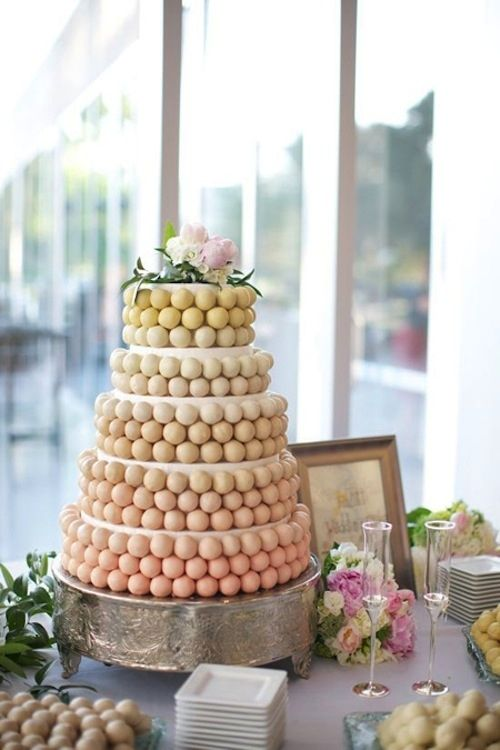 Tarta de cake pops totalmente inesperada