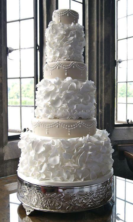 Exquisitez enestastartas de boda originales y únicas