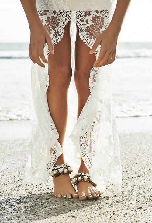 Vestidos de novias hippie chic para la playa ¡Soñados!!