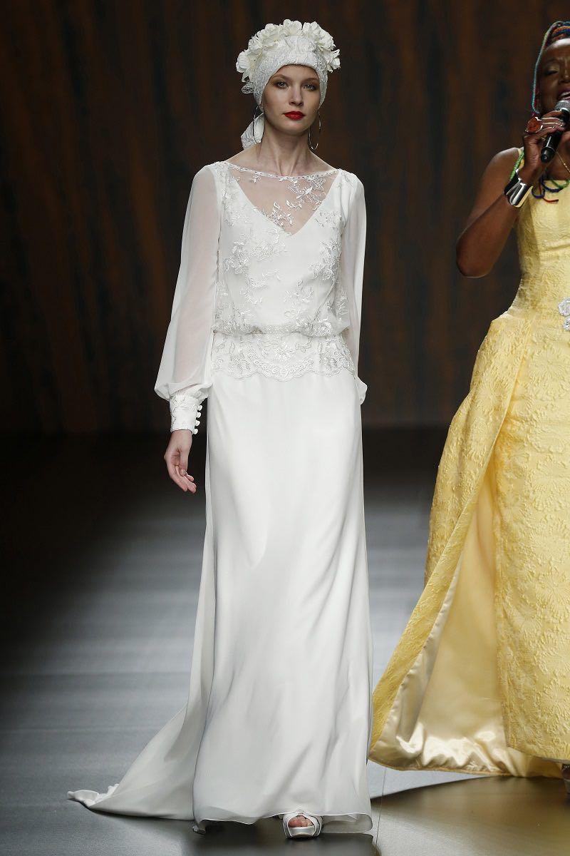 Ana Torres en el Barcelona Bridal Week 2015 -Colección Primavera – Verano 2016