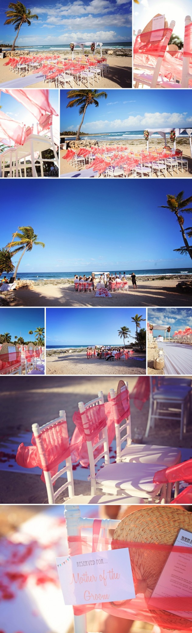 Bodas espectaculares en la playa de la Rivera Maya. - Bodas en Cancun