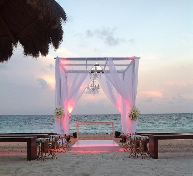 Cancún es un centro maravilloso, para bodas en playas y románticas lunas de miel. Bodas en playas de Mexico, Cancun, Dreamresorts.com
