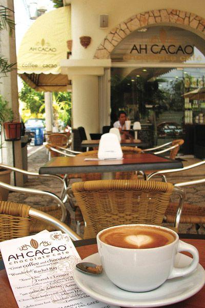 Cafe en Playa del Carmen