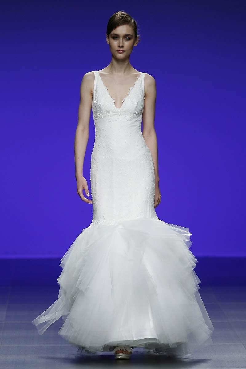 Corte sirena Cymbeline Forever 2016 - Barcelona Bridal Week