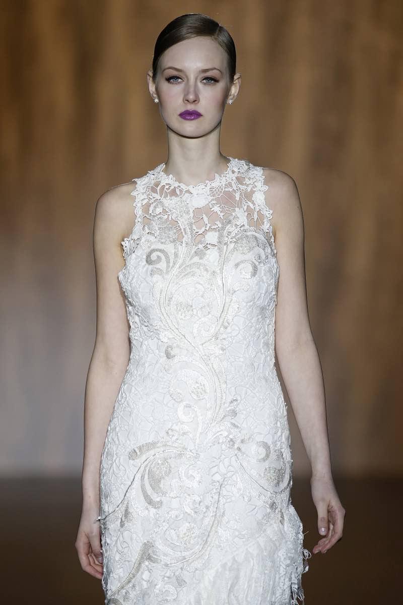 El detalle de este vestido de Patricia Avendaño impresionará a tus invitados