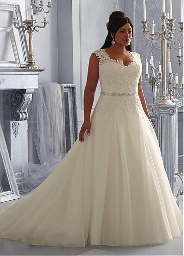 fotos de trajes de novia para gorditas ¡luce como una diosa!