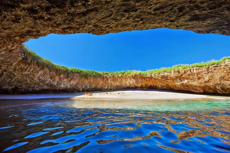 ¿Te imaginas la Playa de Amor en las islas Marieta Mexico para tu boda en playas de México?