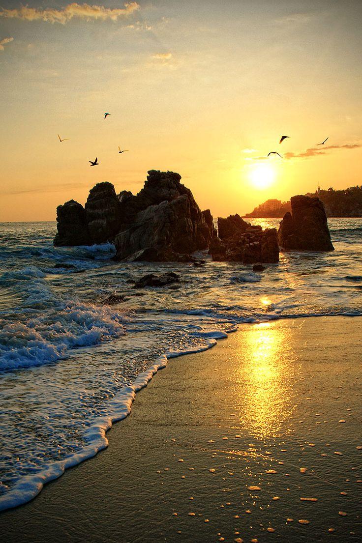 Puerto Escondido, Oaxaca. Bodas en Playas de Mexico