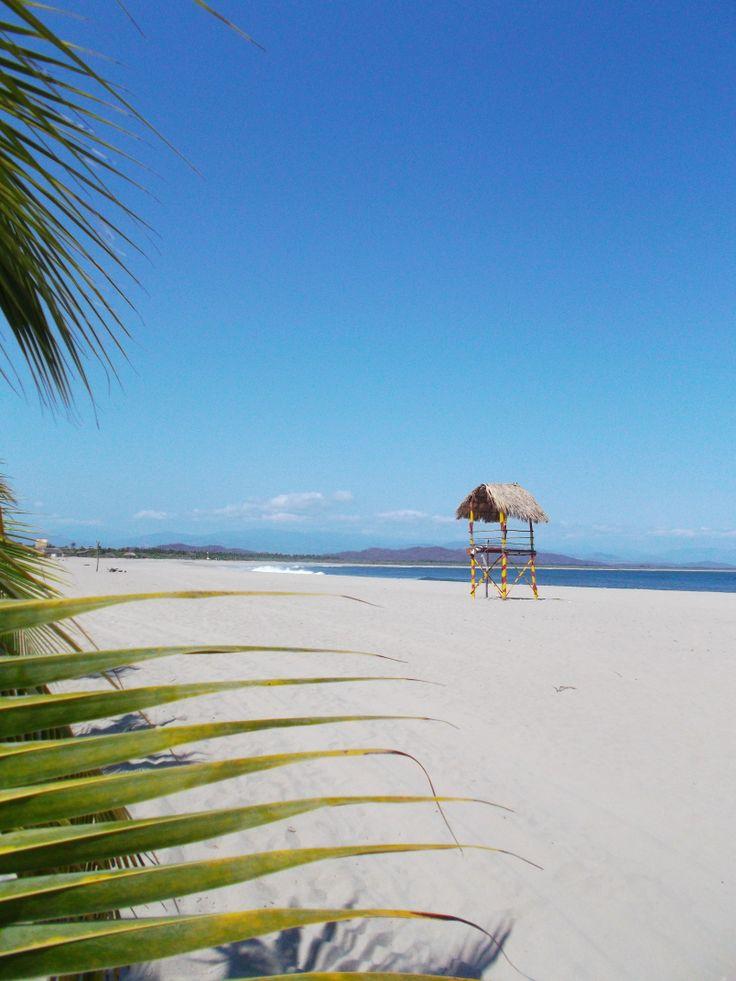 Exclusivas playas de México en Puerto Escondido, Oaxaca.