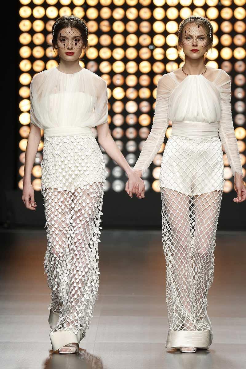 Te animas a estos vestidos de novia de Isabel Sanchis?
