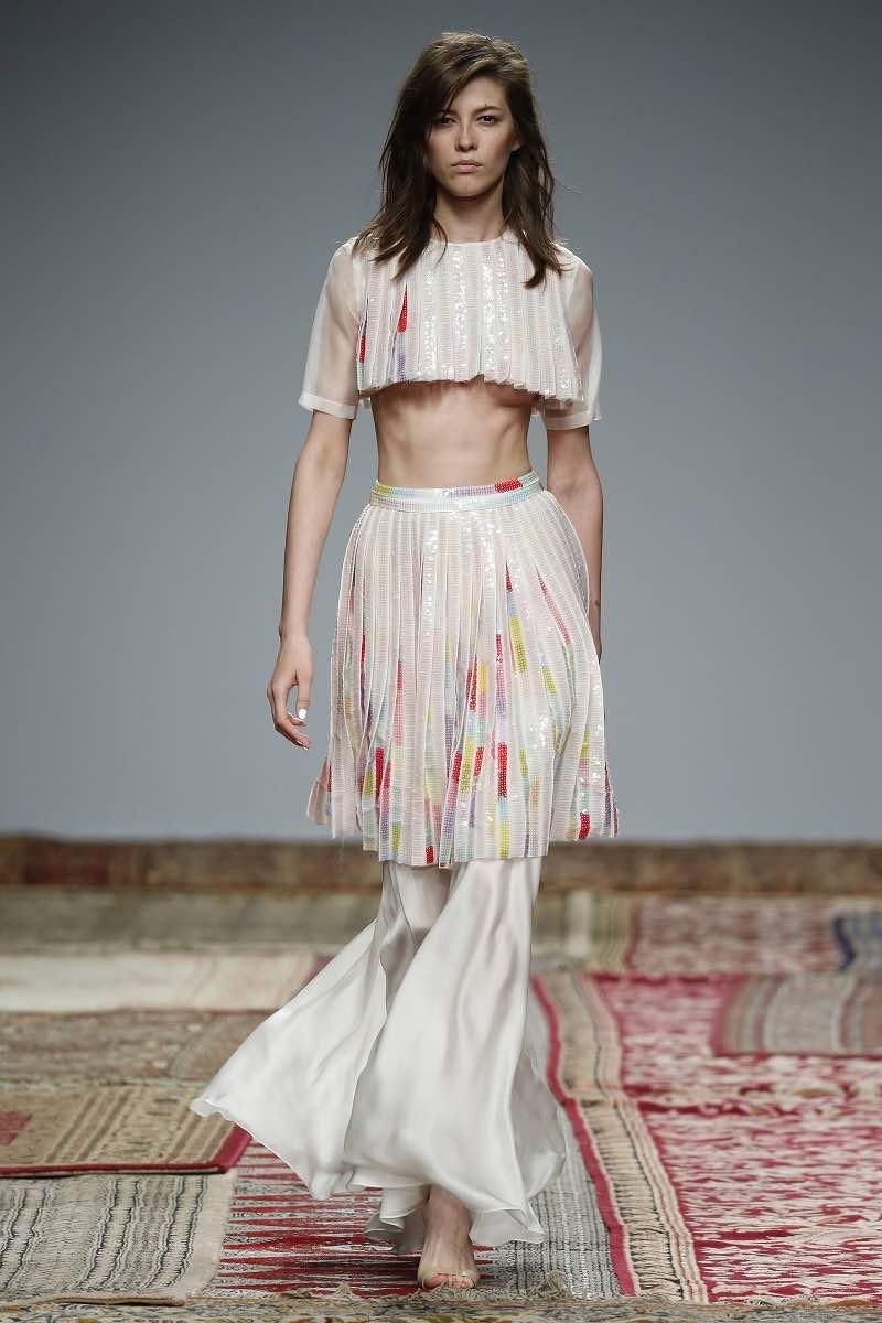 Un traje de novia para las mas atrevidas de Houghton - Barcelona Bridal Week 2015