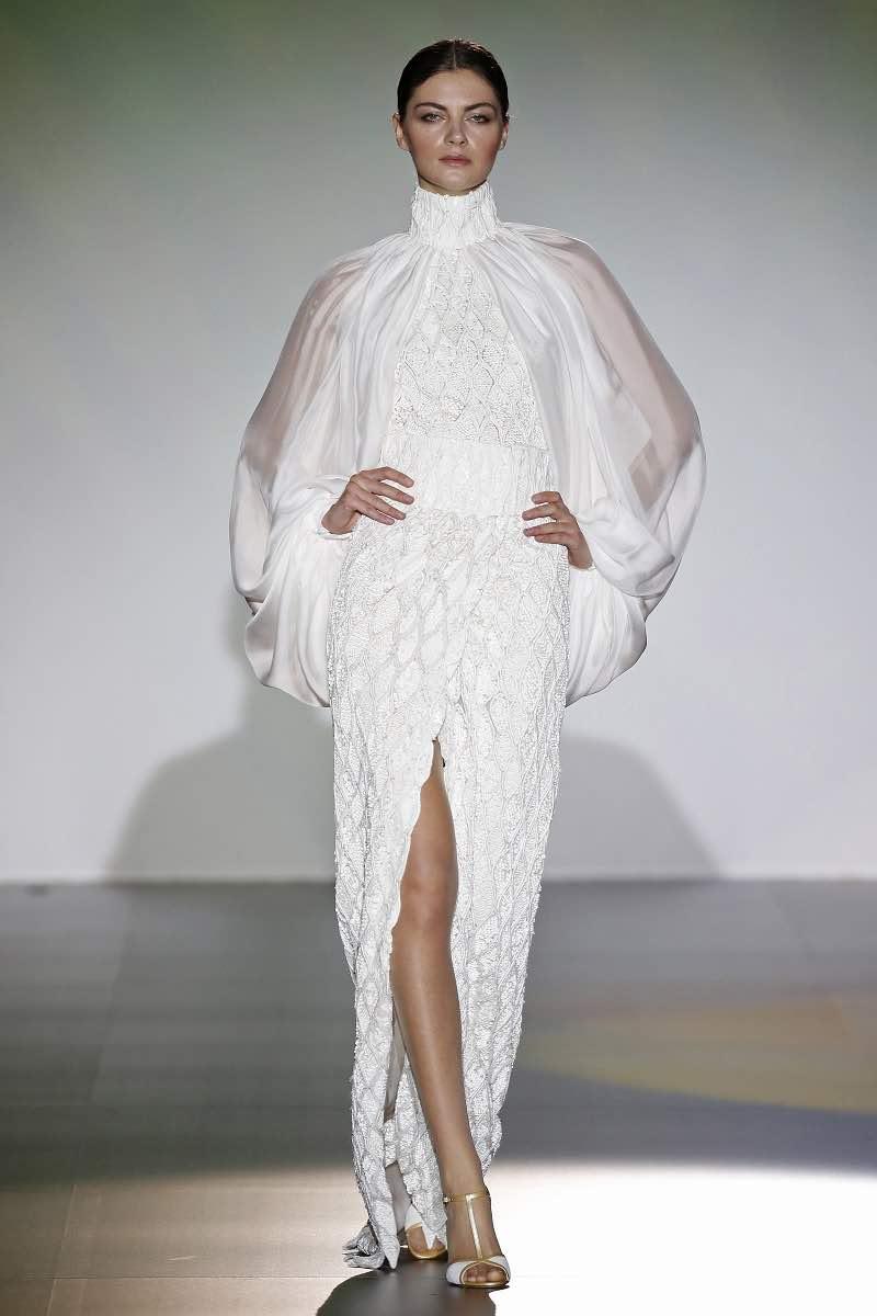 Vestido de novia de Isabel Zapardiez para el Barcelona Bridal Week 2015