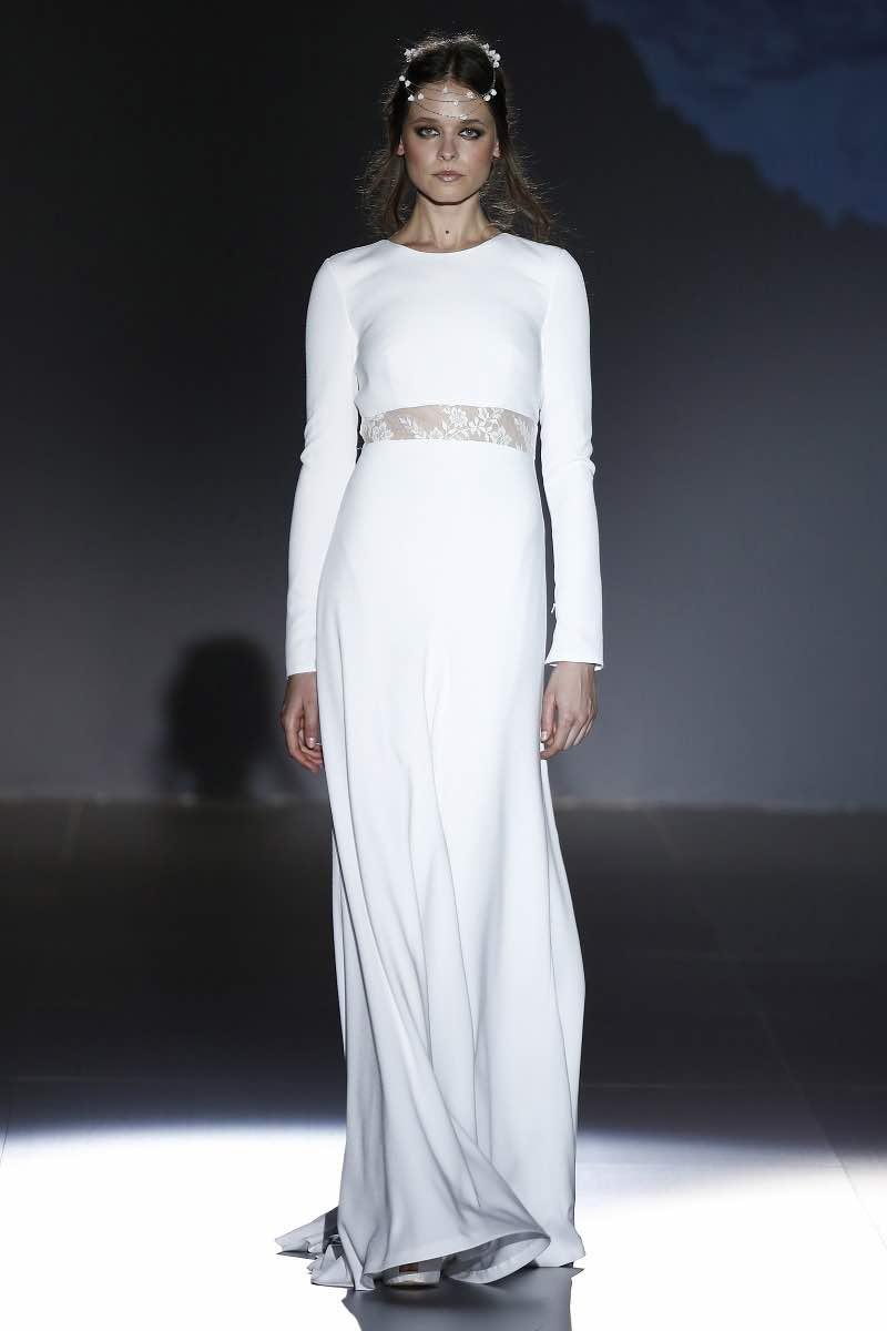 Vestido de novia de Jesus Peiro - Entallado para lucir la figura