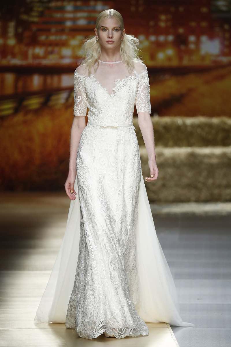 Vestido de novia elegante y delicado de ensueño de Inmaculada Garcia