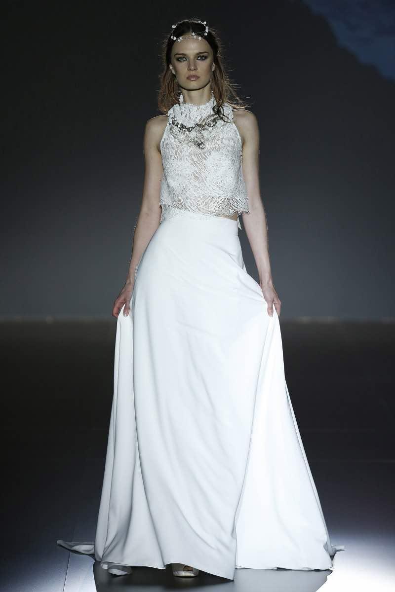 Vestidos de novia de dos piezas - Jesus Peiro 2016