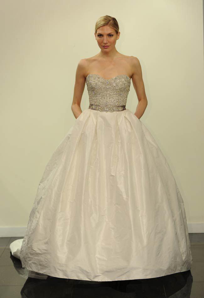 Vestidos de novia para gorditas de Victor Harper