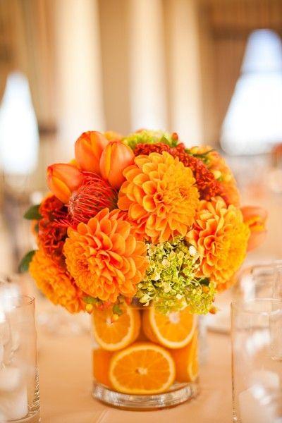 Manualidades para boda originales y f ciles de hacer - Como hacer color naranja ...
