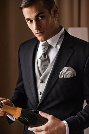 Corbata estilo ascot