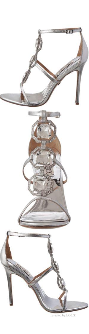 ¿No son hermosos? Badgley Mischka 2015 zapatos para bodas