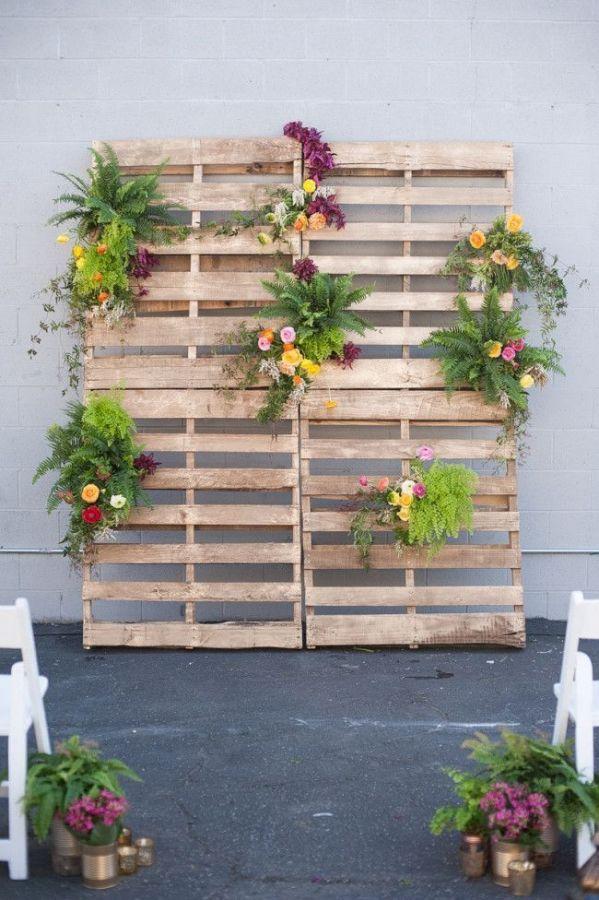 Cítricos, orquídeas y jade – Inspiracion para una boda moderna industrial - Foto: heyweddinglady.com