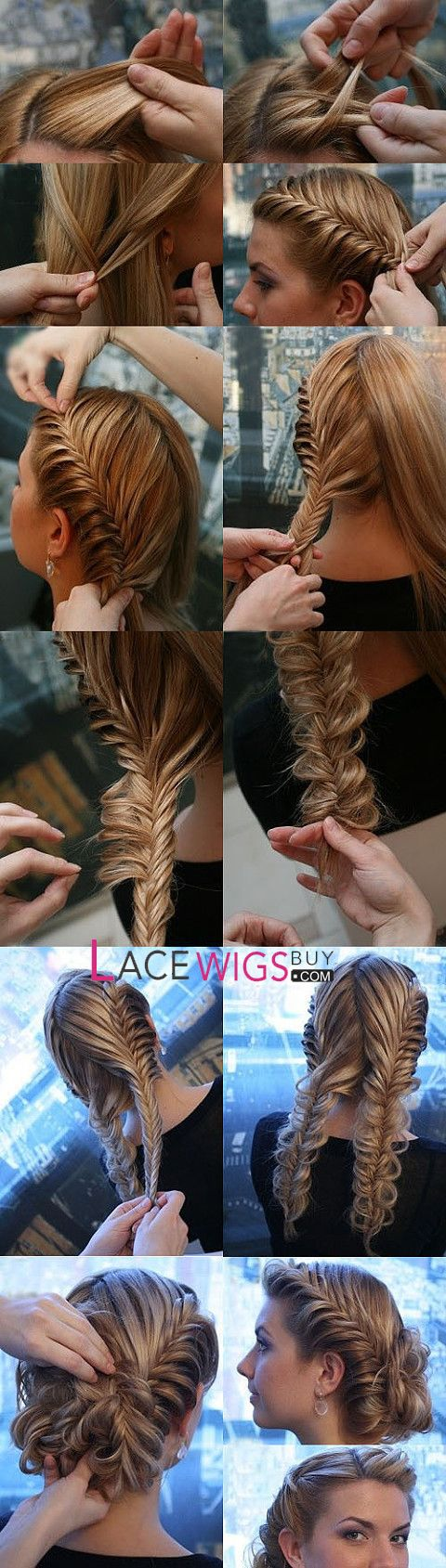 Como hacer peinados con trenzas para novias paso a paso