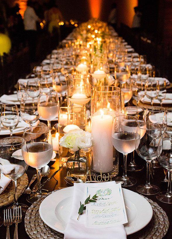 Elegantes sofisticados pero fáciles de hacer estos centros de mesa impresionaran a tus invitados