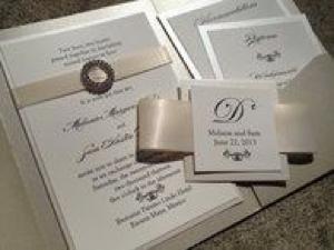 Invitacion elegante ideal para bodas estilo industrial