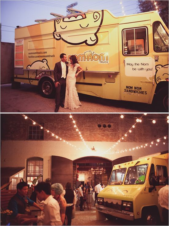 Las bodas industriales marcan tendencia para el 2015 y el 2016 - Boda en un food-truck fotografiada por Joy Prouty en la Huron Substation