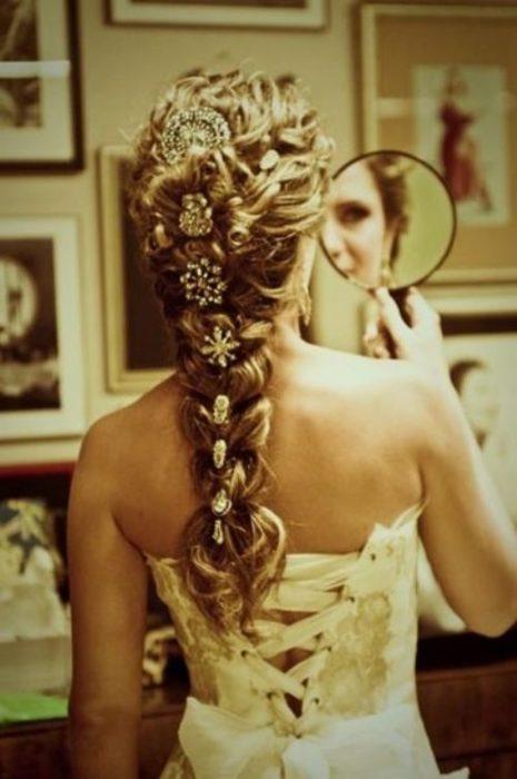 Peinados de novias con trenzas estilo francés con paso a paso para que lo hagas tú misma!