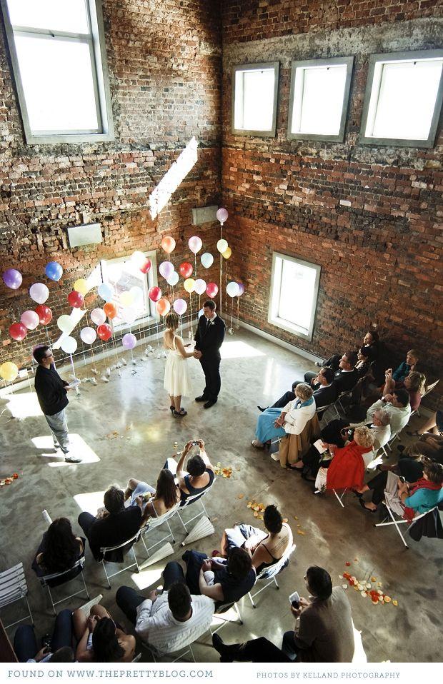 Una cervecería transformada en salon de bodas para tu ceremonia religiosa ¡Si, quiero!