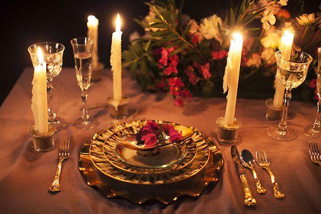 Centro de mesa para bodas originales y sexy para boda industrial
