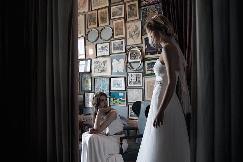 Los diseños de Merche Segarra son el sueño de más de una novia! Diseños de vestidos de novia de Merche Segarra para Jesús Peiró