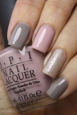 Ideas de decoración de uñas para novias