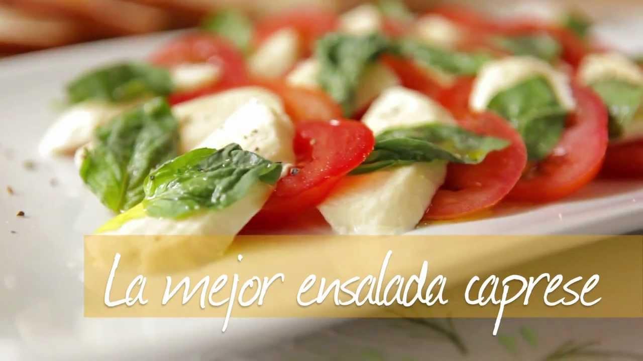 La mejor ensalada caprese y la más sencilla de hacer!