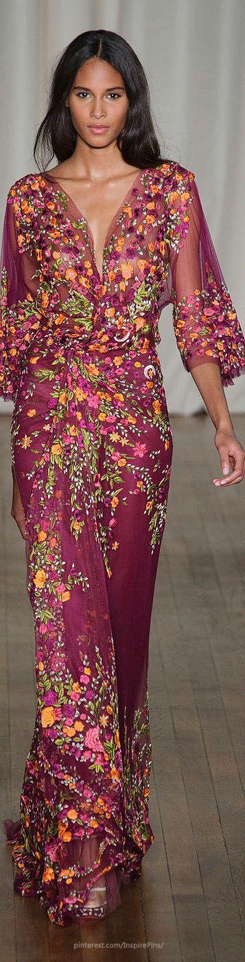 Vestidos de madrina de boda de Marchesa Londres 2015 - Foto popsugar.com