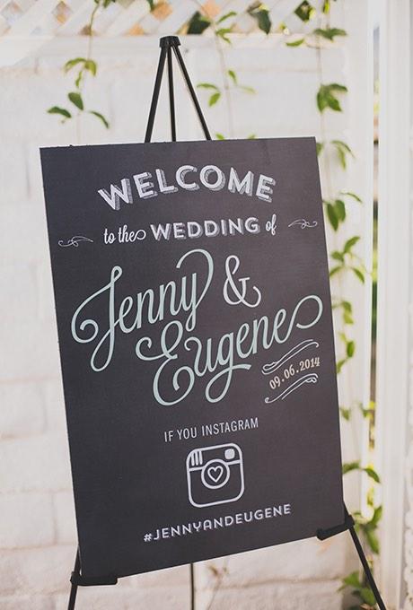 Bienvenidos a la boda y he aquí el hashtag para Instagram - Foto: Floataway Studios