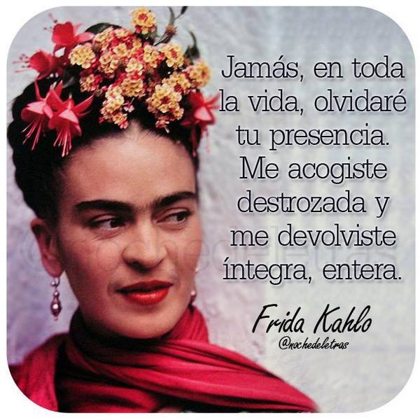 Inolvidables Frases De Amor De Frida Kahlo Todo Frida