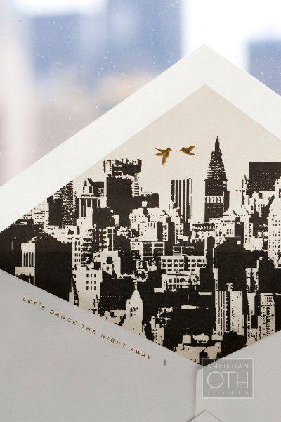 Perfecto para una boda en New York por Christian Oth Studios